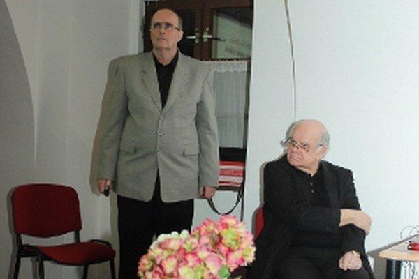 Zľava Ján Rak a Ivan Hnát.
