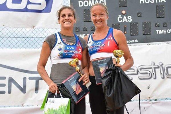 Vicemajsterky Slovenska Eva Eleková (vľavo) a Jana Tužinská