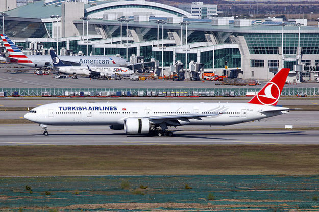 Turkish Airlines, Boeing 777.