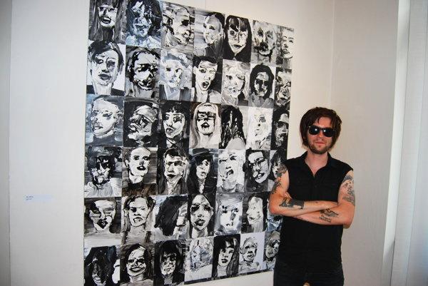 Rocker s dušou maliara-Ján Hrčka.