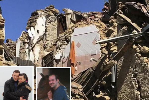 V Taliansku sa počas zemetrasenia nachádzali Zdenko (vľavo) a Michal (vpravo) zo žarnovického okresu.