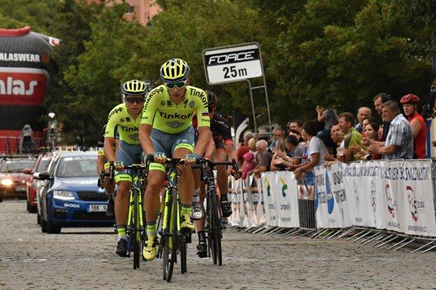 Erik Baška (vpredu) obsadil trináste miesto.