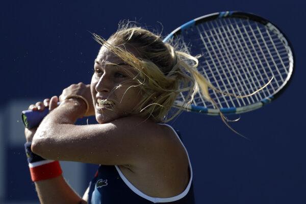 Dominika Cibulková ako jediná zachraňuje česť slovenského tenisu v druhom kole US Open.