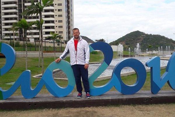 Ondrej Kružel sa zúčastnil na prvej olympiáde v kariére.