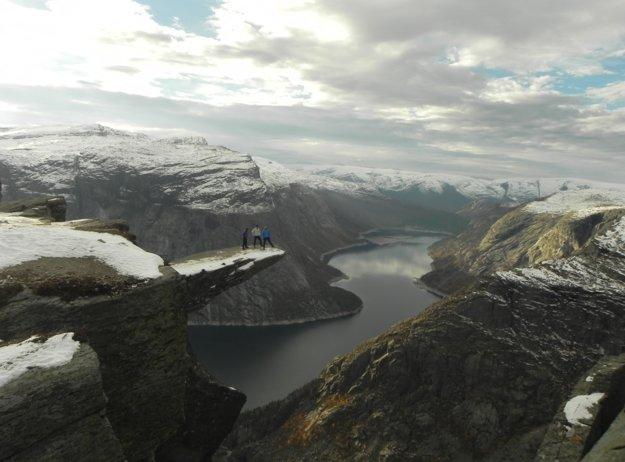 Nórsko bola jednou z krajín, ktoré sa Michalovi páčili najviac.