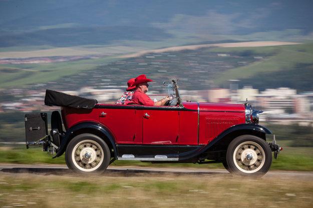 Ford model A z roku 1930