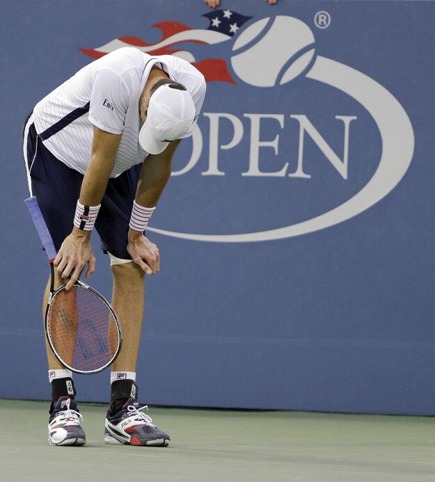 Isner na US Open skončil.