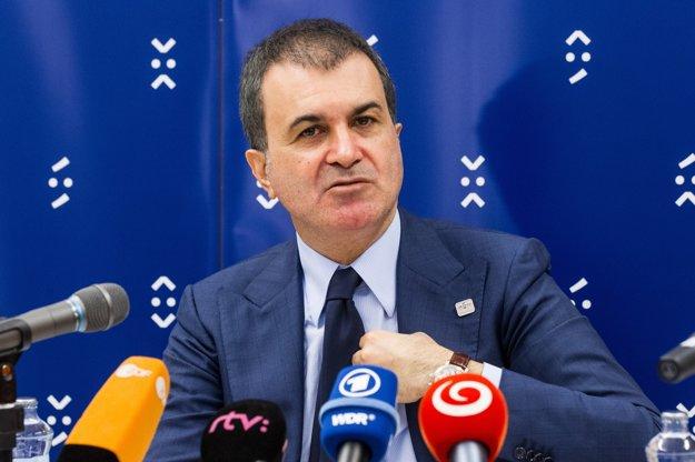 Turecký minister pre európske záležitosti Ömer Çelik.