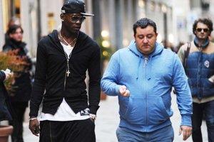 Mino Raiola a Mario Balotelli.