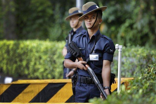 Singapurská polícia posilnila bezpečnostné opatrenia v okolí summitu.