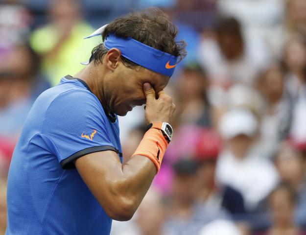 Rafael Nadal po vypadnutí z US Open.
