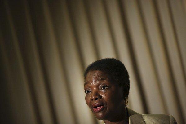 Odstupujúca humanitárna šéfka OSN Valerie Amosová.