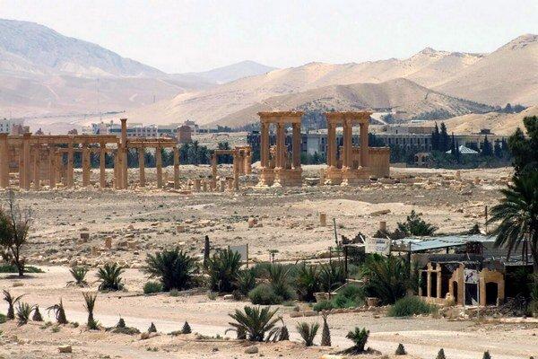 Pamiatky v starovekej Palmýre.