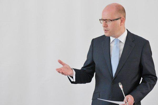 Sobotka označil snahu opozície za prázdne gesto.