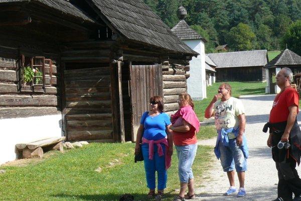 Martinský skanzem je pre turistov i našincov veľkým lákadlom.