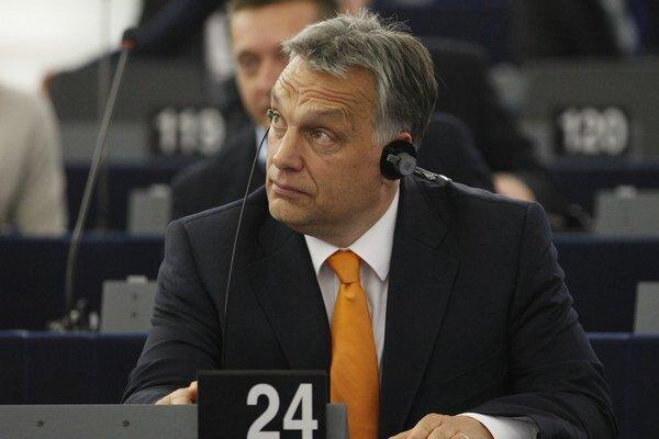 Maďarský premiér Orbán.