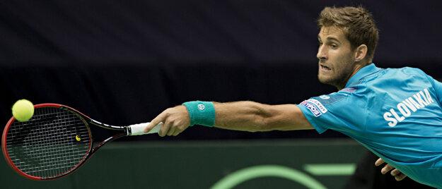 Kližan by v Davis Cupe proti Austrálii mal nastúpiť.