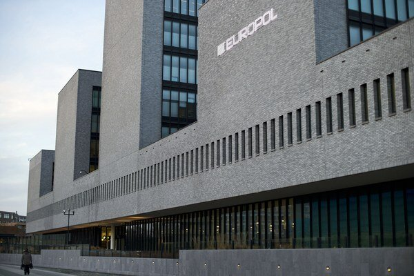 Budova Europolu v Haagu.