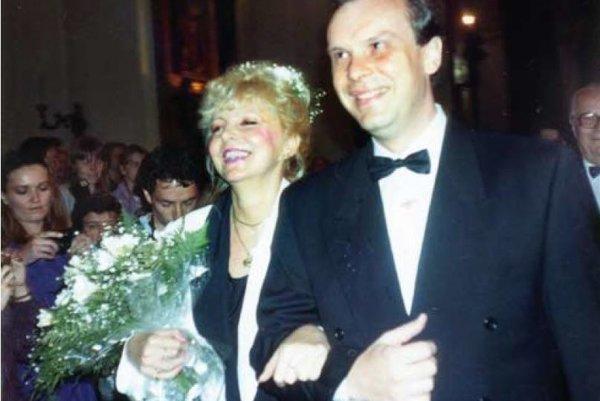Našla svojho osudového muža. S Košičanom Štefanom Margitom sa zosobášili v roku 1992.