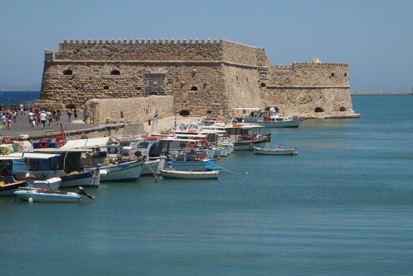 Pevnosť Koules, Heraklion.