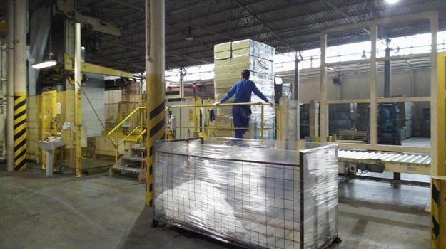 Závod na výrobu tepelnej izolácie prešiel rokmi viacerými zmenami.