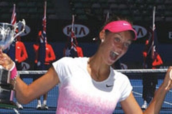 Rodáčka zTopoľčian Tereza Mihalíková vyhrala v roku 2015 juniorsky Australian Open.