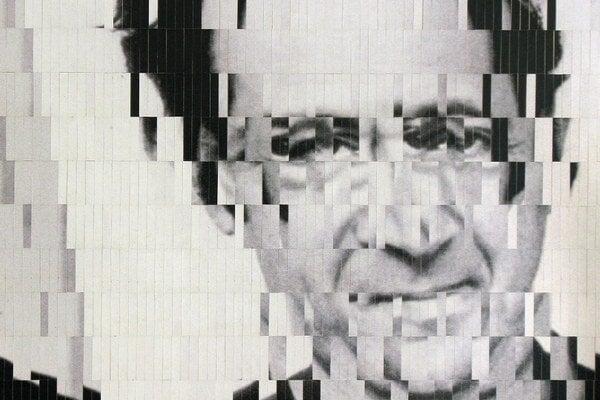 M. Derner: Reich I. (2015), koláž z častí fotografie.