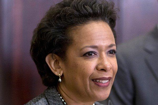 Lynchová je v Spojených štátoch vôbec prvou Afroameričankou na čele ministerstva spravodlivosti.