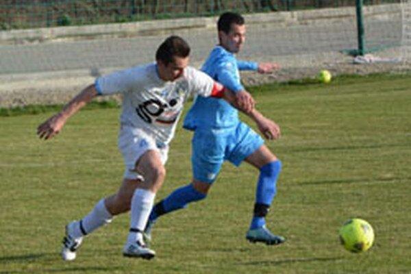 V zápase V. ligy Stred vyhrali Krušovce nad Solčanmi 1:0.