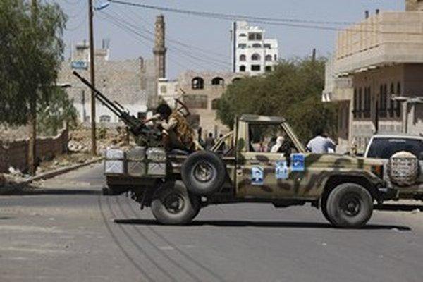 Jemenskí povstalci.