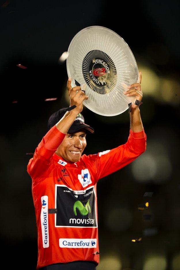 Nairo Quintana ovládol španielsku Vueltu.