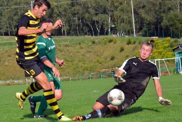 Martinské béčko zvládlo súboj s Oravskou Jasenicou a priblížilo sa na dva body k lídrovi z Bešeňovej.