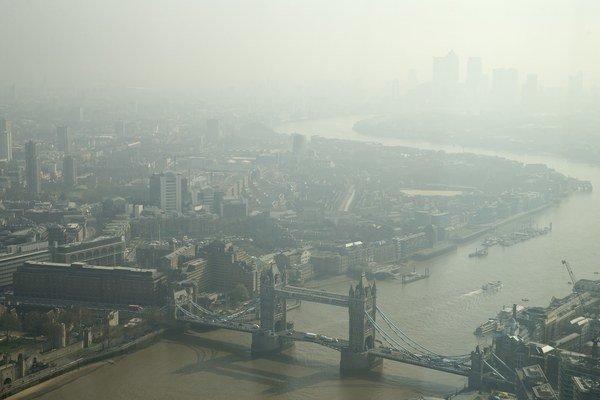 Londýnsky Tower Bridge.