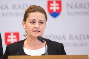 Poslankyňa SaS Natália Blahová.