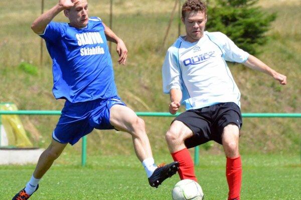 Futbalisti Sklabine hrali v sobotu v Malom Čepčíne, prehrali 0:4.