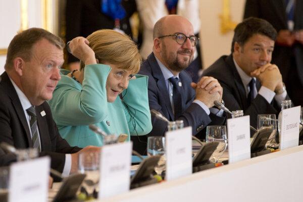 Lídri rokujú na Bratislavskom hrade.