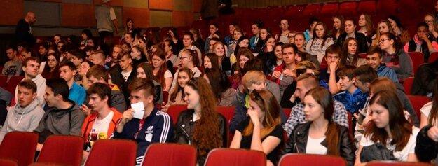Koncert a diskusie proti fašizmu so študentmi.