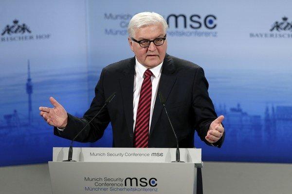 Nemecký minister zahraničných vecí Frank-Walter Steinmeier.