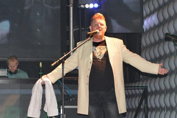 Martin Kittner na piatkovom koncerte.