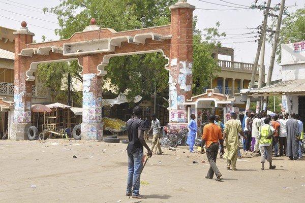 Jeden z útokov sa odohral na trhovisku.