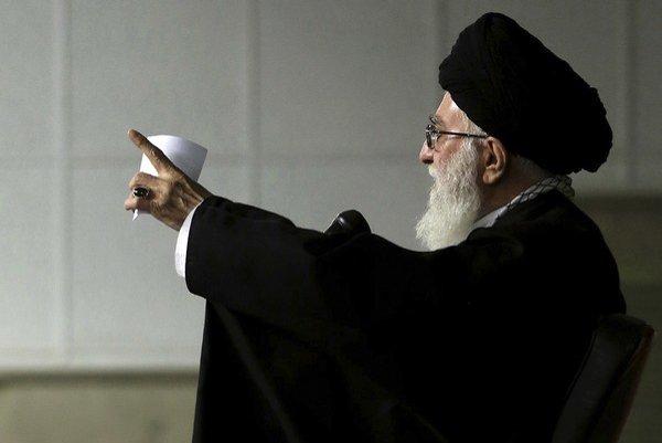 Chameneího hospitalizovali v čase židovského sviatku Purim.