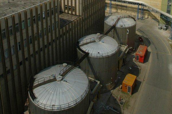 Celkový pohľad na 2.blok atómovej elektrárne v maďarskom Paksi.