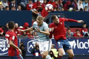 Osasuna remizovala s hráčmi Celta Vigo. - archívna snímka.