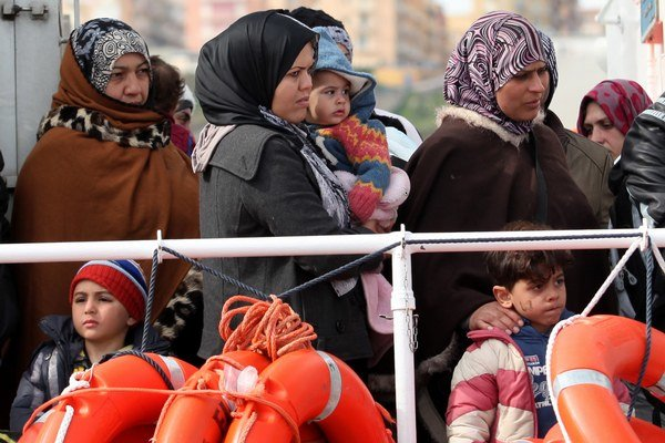 Cieľovou krajinou utečencov je Taliansko.