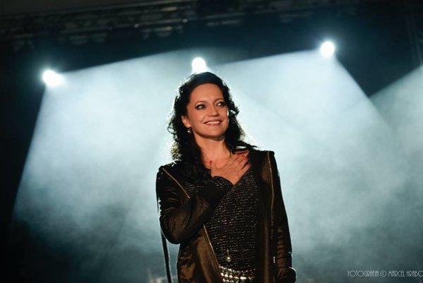 Lucie Bílá vystúpila v Skalitom.