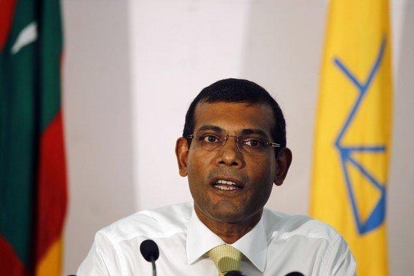 Maldivský exprezident.