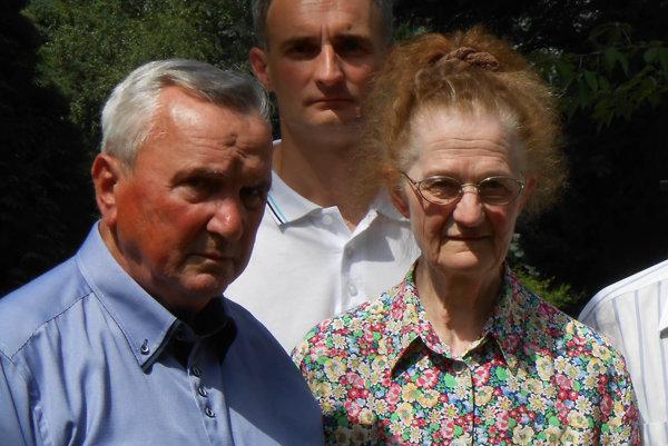 V. Balčák (vľavo).