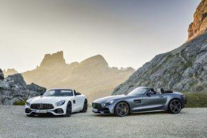 Nový roadster Mercedes AMG GT.