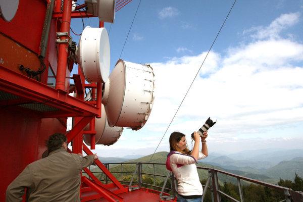 Vysielač na Skalke je pre verejnosť neprístupný.