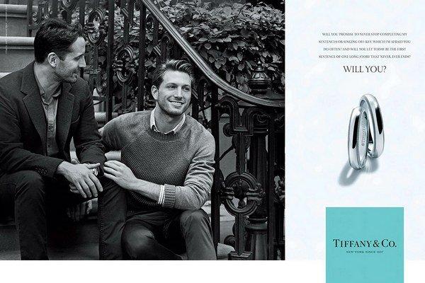 Jedna z fotografií januárovej kampane klenotníckej značky Tiffany.